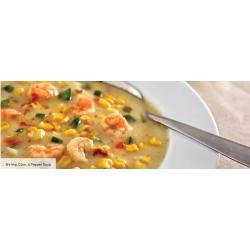 King Creole Shrimp, Corn & Pepper Soup
