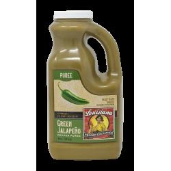 Green Jalapeno Pepper Puree, 64oz Louisiana Pepper...