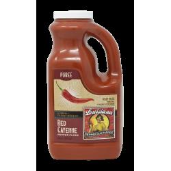 Cayenne Pepper Puree, 64oz Louisiana Pepper Exchan...