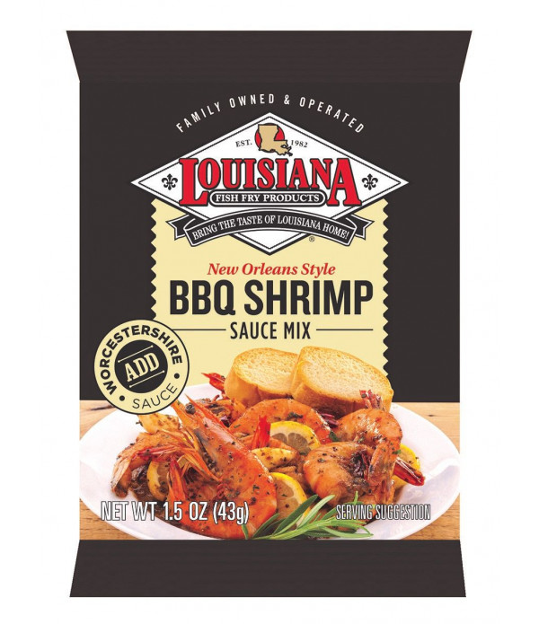 Louisiana Fish Fry BBQ Shrimp Mix 1.5oz