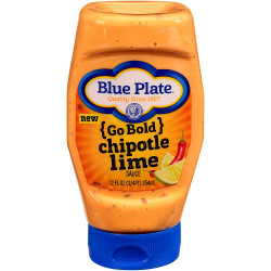 Blue Plate Go Bold Chipotle Lime Squeeze 12oz