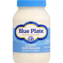 Blue Plate Light Mayonnaise 30oz