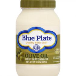 Blue Plate Light Olive Oil Mayonnaise 30oz