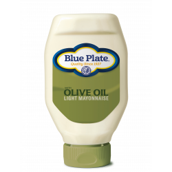 Blue Plate Light Olive Oil Squeeze Mayonnaise 18oz