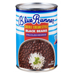 Blue Runner Creole Cream Style Black Beans 16oz