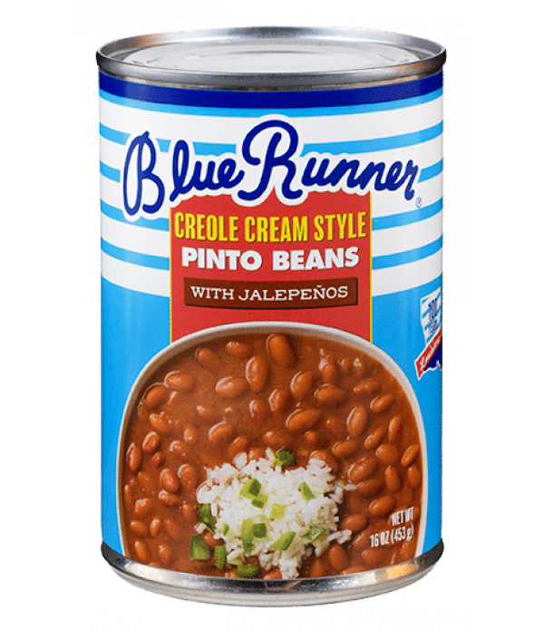 Blue Runner Creole Cream Style Pinto Beans with Ja...