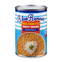 Blue Runner Creole Cream Style original Navy Beans...
