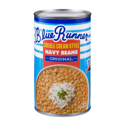 Blue Runner Creole Cream Style Navy Beans 27oz