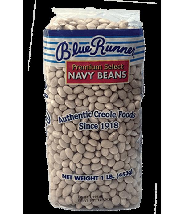 Blue Runner Dry Navy Beans 1lb
