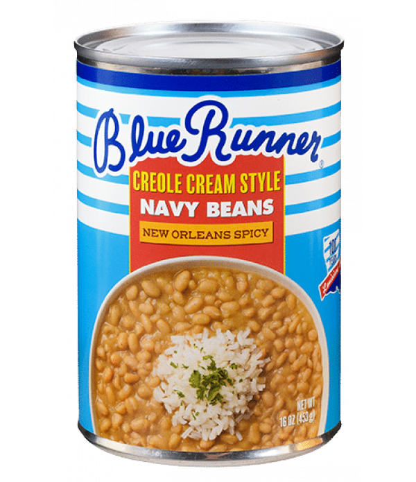Blue Runner Creole Cream Style Spicy Navy Beans 16...