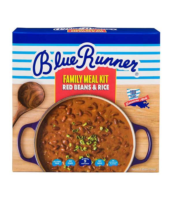 Blue Runner Red Beans & Rice Family Bean Kit