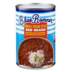 Blue Runner Creole Cream Style Spicy Red Beans 16o...