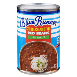 Blue Runner No Salt Creole Cream Style Red Beans 1...