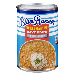 Blue Runner Creole Cream Style Navy Beans with Mir...