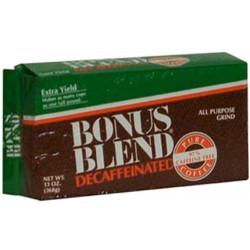 Bonus Blend Pure Decaf Bag 13oz