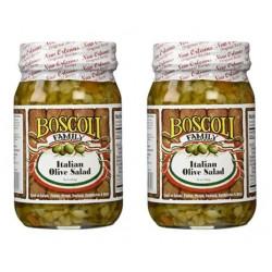 Boscoli Italian Olive Salad 15.5oz 2 Pack