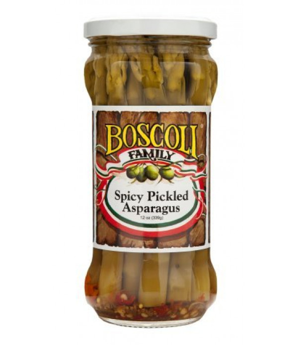 Boscoli Spicy Pickled Asparagus 12oz
