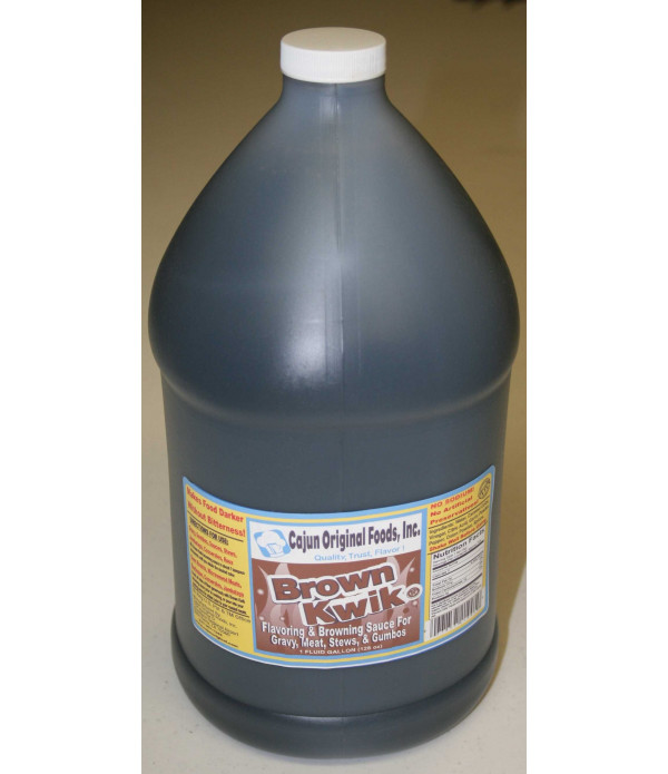 Brown Kwik Gravy and Meat Browning Sauce Gallon