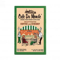 Café Du Monde Single Serve Decaf Coffee and Chico...