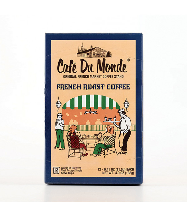 Café Du Monde Single Serve French Roast Coffee