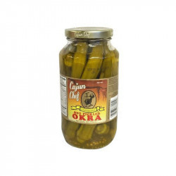 Cajun Chef Hot Pickled Okra 24oz