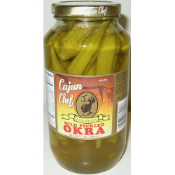 Cajun Chef Mild Pickled Okra 24oz