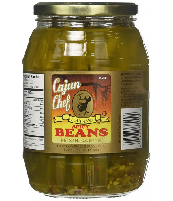 Cajun Chef Spicy Green Beans 32oz