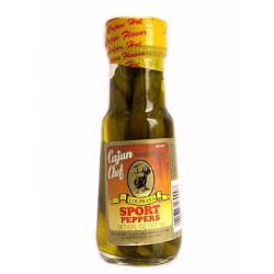 Cajun Chef Sport Peppers 6oz