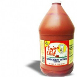 Cajun Chef Wing Sauce 128oz