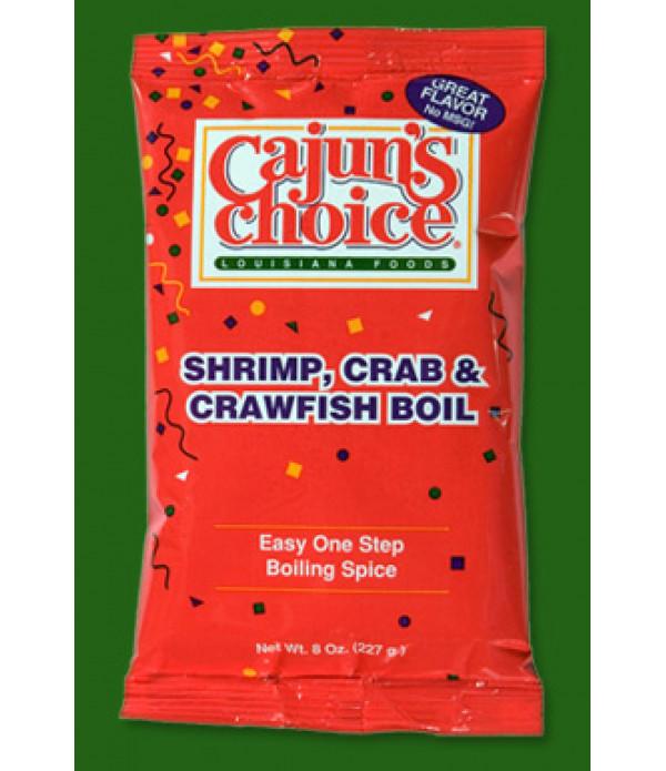 Cajun's Choice Crab Boil 8 oz