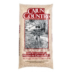 Cajun Country Medium Grain Rice 3lb