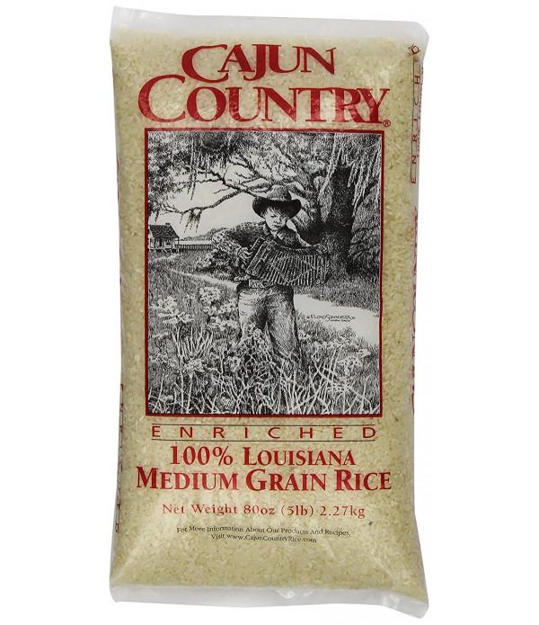 Cajun Country Medium Grain Rice 5lb