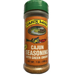 Cajun Land Seasoning with Green Onions 7oz