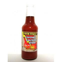 Cajun Power Lightning Hot Sauce 10oz