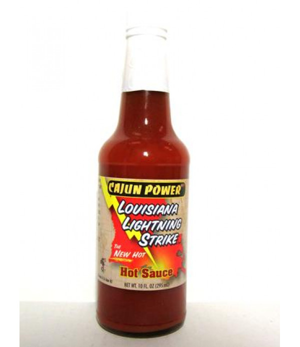 Cajun Power Lightning Hot Sauce