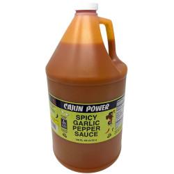 Cajun Power Spicy Garlic Pepper Sauce 128oz