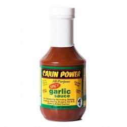 Cajun Power Spicy Garlic Sauce 16oz