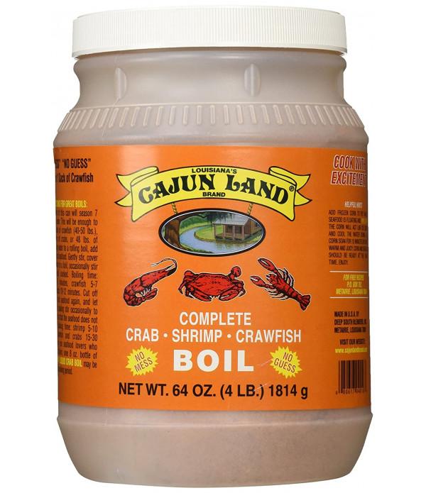 Cajun Land Seafood Boil 4 lb