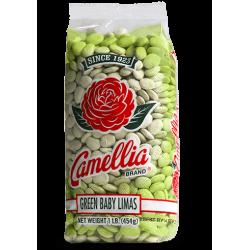 Camellia Green Baby Lima Beans 1lb