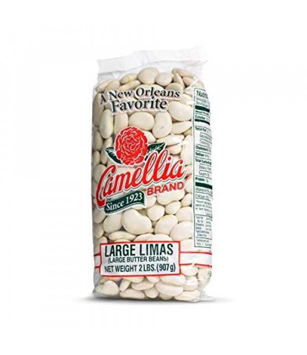 Camellia Large Lima Beans 2 lb