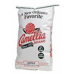 Camellia Lentils 25 lb
