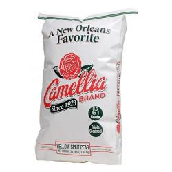 Camellia Yellow Split Peas 25 lb