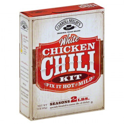 Carroll Shelby White Chicken Chili 3oz