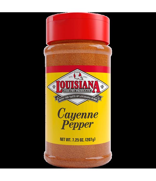 Louisiana Fish Fry Cayenne Pepper 7.25oz