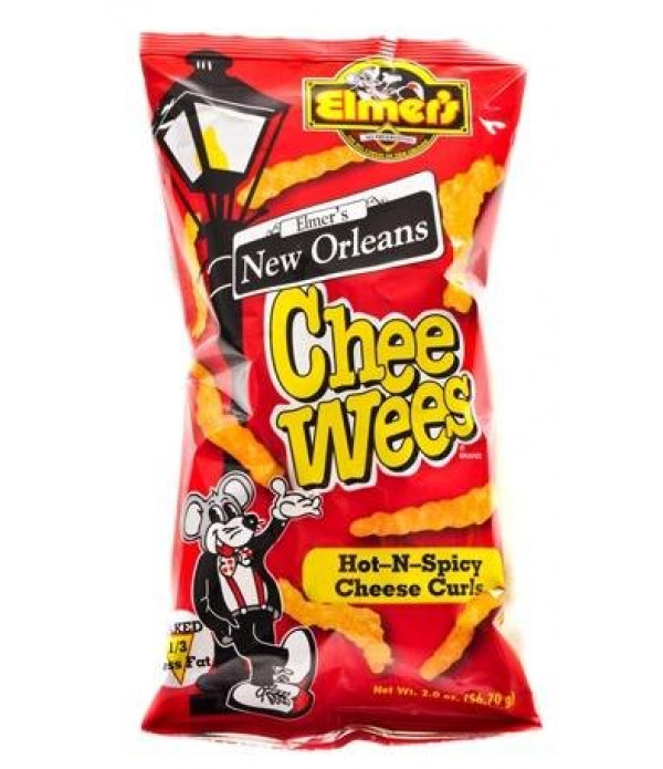 Chee Wees Hot and Spicy 2 oz