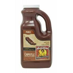 Chipotle Pepper Puree 64oz Louisiana Pepper Exchan...