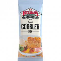 Louisiana Fish Fry Fruit Cobbler Mix 10.58oz