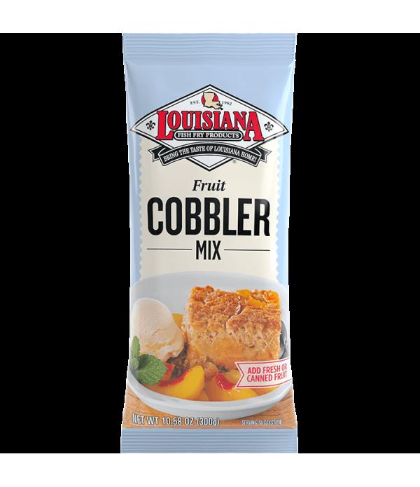 Louisiana Fish Fry Cobbler Mix 10.58 oz