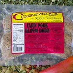 Comeaux's Pork & Jalapeno Boudin 1lb