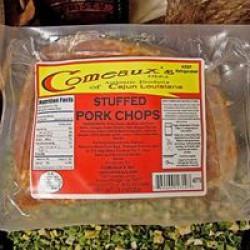 Comeaux's Stuffed Pork Chops w/ Boudin